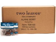 Two Leaves and a Bud Alpine Berry Herbal Tea, 100-Count >>> Continue to the product at the image link. (This is an affiliate link) #Herbal