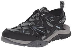 Merrell Womens Capra Rapid Sieve Water Shoe Black 105 M US * Special  product just for you. See it now!