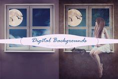 Digital Background Digital wall Photo Background window