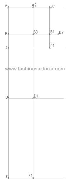 pantalone su misura modello, tutorial di modellistica