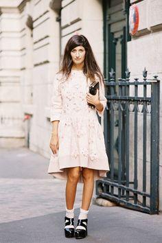 Vanessa Jackman: Paris Fashion Week SS 2014....Valentina