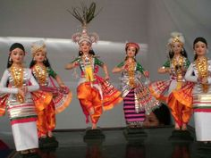 Manipuri Dance Dolls.....