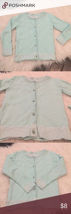 Toddler teal cardigan. Toddler cardigan. Blue Excellent used condition toddler size 4t light teal cardigan. No holes or stains, only worn a few times. Please review photos for details and wear and ask any questions. No low ball offers or trades. Cherokee Shirts & Tops Sweaters
