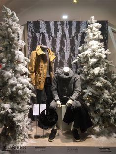 Winterstyles Fashion by Gränicher  10 Schaufenster an der Pilatusstrasse in Luzern Retail Space, Lucerne, Store Windows