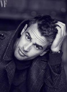 "Photos: Theo James, Divergent Star, Plays Shailene Woodley's ""Real Man"" Love Interest   Vanity Fair"