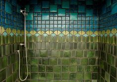 Founded in 1903 during the Arts & Crafts Movement, Pewabic creates beautiful tiles and pottery using very unique glazes.