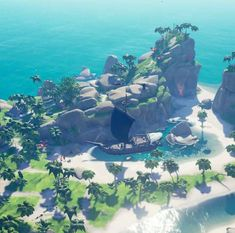 Best place for fishing ever ! Sea Of Thieves, Fantasy City, Sailboat, Game Design, Game Art, Concept Art, Tropical, Ocean, Blender 3d