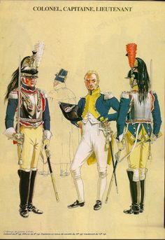 NAP- France: Los Coraceros 1804, by Michel Pétard.