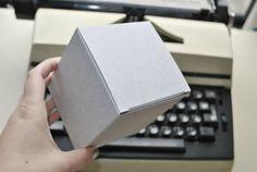 10 Gift boxes White grey brown kraft gift boxes by FunkyBoxStudio