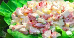 Cette salade de GOBERGE est renversante! Un dîner prêt en 10 minutes que tout le monde aimera!