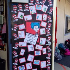 Celebrating Dr. Seuss in 4th Grade...
