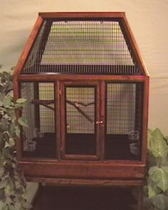 large bird cage but can be used for rats too.
