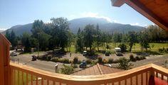 Vue des chambres côté lacs & montagnes