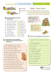 English worksheet: QUESTION TAGS SET / Part I -- Focus on Form