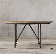 Hello Flatiron Round Dining Table Aren T You Pretty You Re