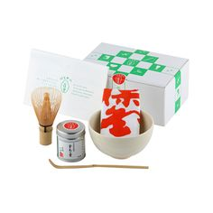 This match starter kit is perfect for anyone interested in learning how to makeauthentic matcha at home. Unliketea leaves such as gyokuro, sencha and bancha that can be prepared with a kyusu (Japanese tea pot), matcha requires a set of special utensils.  This starter kit is made by one of the most respected tea producers in Japan, providing matcha loverswith all the tools necessary for authentic experience.  The set contains the following - all made in Japan:  A bilingual instruction on…