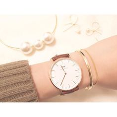 今お洒落さんから可愛すぎる! と注目を集めている『Daniel Wellington(ダニエルウェリントン)』の腕時計。 その魅力を紹介します!クリスマスに自分のご褒美にいかがですか?