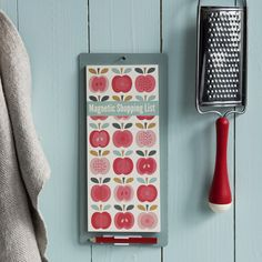 Red Apple Hanging Shopping List