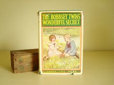 Hey, I found this really awesome Etsy listing at https://www.etsy.com/listing/237076958/the-bobbsey-twins-wonderful-secret-1931