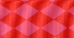 Venus Ribbon 1-1/2-Inch Jester Petite Grosgrain Ribbon, 5-Yard, Shocking Pink/Red * For more information, visit image link.