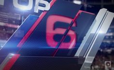Sports motion graphic design NFL GAMEDAY on Behance