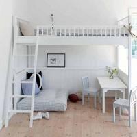 Tiener stapelbedden op pinterest stapelbed zolderbedden en moderne tienerslaapkamers - Deco kamer onder dekking ...