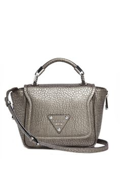 Off Beat Top Handle Cross-Body with Gunmetal-Tone Hardware at Guess. Guess  BagsCrossbody ... a11667bb1ef36