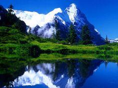 Fundos de montanhas. Fundos de ecrã de montanhas