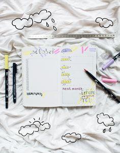 Bullet Journal Monthly Log. #bulletjournal #monthlylog #monthlyspread