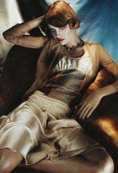 Natalia Vodianova | Vogue Italia May 2008/ Steven Meisel