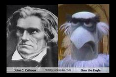 This guy looks almost exactly like Sam the eagle! I wonder if Sam's looks were based off this dude?
