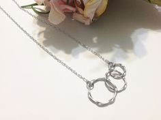 Silver Infinity Necklace Silver Infinity by Beadswireandlinks, $18.00