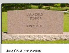 Julia Child grave site