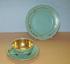 HUTSCHENREUTHER Germany TURVEL CUP Saucer PLATE Bavaria