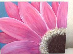 Gerbera Daisy Painting Video - Submitted Artwork