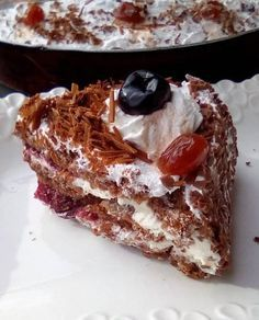 Greek Pastries, Greek Desserts, Food For Thought, Beautiful Cakes, Sweet Recipes, Sweet Tooth, Good Food, Food And Drink, Cooking Recipes