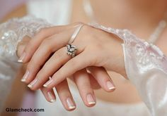 20 Classy Wedding Nail Art Designs - Be Modish - Be Modish