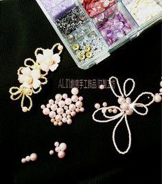 手工珠飾編織-新娘花飾 客訂製款~訂婚造型飾品 日本進口珠飾-編織  歡迎預約訂購~ https://www.facebook.com/ ALIN0928842012