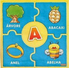 Educar X: Exercícios com as vogais para imprimir Eyfs, Literacy, Kindergarten, Kids Rugs, Education, Cards, 1, Gisele, Lucca