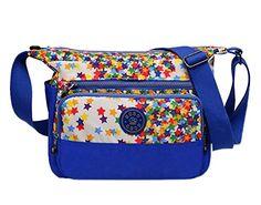 Genda Small Cross Over Handbag Inclined Shoulder Messenger Bag Purse (Rose) Handbags Uk, Purses And Bags, Messenger Bag, Diaper Bag, Beige, Stars, Amazon, Shoulder, Rose