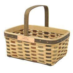 The 2007 Longaberger Collectors Club Member Basket was crafted on a form discovered in J.W. Longaberger's workshop.