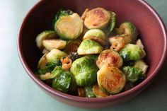 Brussels Sprouts with Cracklings and Fish Sauce