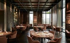 Poliform Contract furnishes Iyo Aalto, the japanese restaurant designed by Maurizio Lai Milan Restaurants, Japanese Restaurant Design, Copenhagen Hotel, Casa Cook, Hotel Pool, Luxury Furniture Brands, Local Architects, Alvar Aalto, Cafe Restaurant
