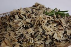 Our favorite gluten free recipe for the Turkey! We make this wild rice stuffing every year.
