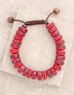 Red Tibet Healing Bracelet
