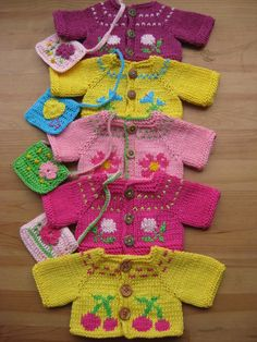 Waldorf Dolls Clothes Hand Knitted  Cotton Sweater by tatocka, $24.00
