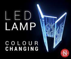 Glowing Circuit Board Lamp