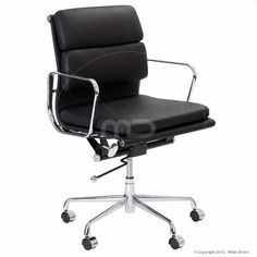 milan direct replica eames executive office. eames replica soft pad office chair black buy chairs leather and milan direct executive p