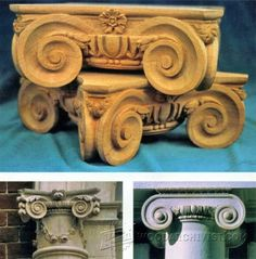 3534-Carving Capitals