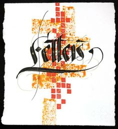 Mecate | Blog de arte y diseño » Blog Archive » Caligrafía